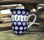 Cup 450 ml, Polsk Keramik, 12 cm høje, Tradition 10, BSN 1704