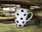 Mug, volume: 450 ml, 12 cm high, Tradition 22 - polish pottery - BSN 7750