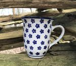 Mug, volume: 450 ml, 12 cm high, Tradition 3 - polish pottery - BSN 2150