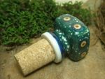 Cork bottle top, cork ca. 2 cm Ø, Tradition 1 - polish pottery - BSN 20045 Picture 2