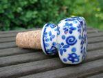 Bottiglia sughero, sughero ca. 2 cm Ø, Tradition 12 - polacco ceramica - BSN 200461 Immagine 2