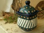 "Tin/Box, 300 ml, 13 cm high, ""Modern Art"" - Tradition 1 - polish pottery - BSN 5200"
