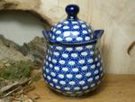 "Tin/Box, 300 ml, 13 cm high, ""Modern Art"" - Tradition 4 - polish pottery - BSN 5208 Picture 1"