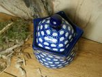 "Tin/Box, 300 ml, 13 cm high, ""Modern Art"" - Tradition 4 - polish pottery - BSN 5208 Picture 2"