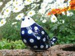 Fugle, 9,5 x 6,5 cm, Polsk Keramik, Tradition 5, BSN 20968 Billede 2