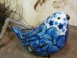 l'uccello, 9,5 x 6,5 cm, unico 4 - polacco ceramica - BSN 20955 Immagine 3