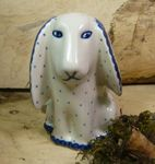Dog, 11 x 11 x 7,5 cm, Tradition 26 - polish pottery - BSN 8017 Picture 2