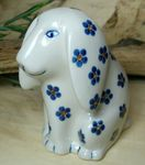Dog, 11 x 11 x 7,5 cm, Tradition 3 - polish pottery - BSN 8002