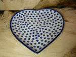 Plate with shape of heart, 23 x 22 cm, Tradition 24 - BSN 30134