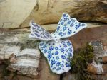 Butterfly 10,5 x 10 cm- high 7 cm - Tradition 12 - BSN 21263