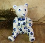 Teddy bear, 11,5 cm high -Tradition 3- BSN 8064