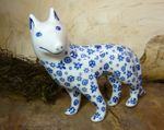 Dog, 15 x 16 x 7,5 cm, Tradition 12 - polish pottery - BSN 7119