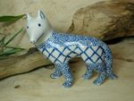 Dog, 15 x 16 x 7,5 cm, Tradition 2 - polish pottery - BSN 7129