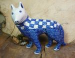Dog, 15 x 16 x 7,5 cm, Tradition 27 - polish pottery - BSN 7112