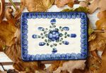 Soap dish-square, 12 x 8 cm, tradition 9, BSN m-949