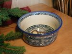 Bowl 14 cm - high 7 cm - unikat 59-polish pottery- 2. quality- BSN 0740 Picture 3