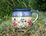 Mug, vol. 220 ml, ↑8 cm, signature 1, BSN s-183