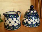 Komplettes Service für 6 Personen, Unikat 53 - polish pottery - BSN 0429 Bild 6