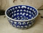 Bowl, 2. choice, Ø 14 cm, height 6,5 cm, Tradition 80 - polish pottery - BSN 60876 Picture 1
