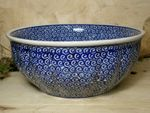 Bowl, 2. choice, Ø 24 cm, height 10 cm, Tradition 63 - polish pottery - BSN 60354 Picture 1