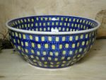 Bowl, 2. choice, Ø 24 cm, height 10 cm, Tradition 70 - polish pottery - BSN 60361 Picture 1