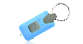 Nextorch™ GL10 LED Taschenlampe in Farbe Blau mit Schlüsselanhänger
