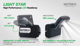 Nextorch™ Light Star LED Kopflampe – Bild 4