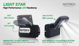 Nextorch™ Light Star LED Kopflampe – Bild 4