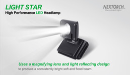 Nextorch™ Light Star LED Kopflampe – Bild 5