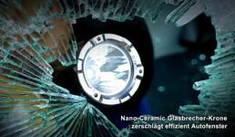 Nextorch TA5 GuardianTactical LED Taschenlampe, 900 Lumen, Kopf mit Nano- Keramik Glasbrecher, Stroboskopfunktion – Bild 3