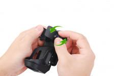 Nextorch Tactical Taschenlampen Holster V5 - 360 Grad drehbar, Schnellverschluss, Gürtelclip – Bild 2