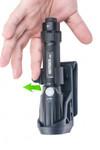 Nextorch Tactical Taschenlampen Holster V5 - 360 Grad drehbar, Schnellverschluss, Gürtelclip – Bild 4