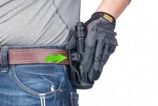 Nextorch Tactical Taschenlampen Holster V5 - 360 Grad drehbar, Schnellverschluss, Gürtelclip – Bild 5