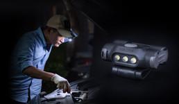 UL10 - LED- Cliplampe für Kappen, Molle, Rucksäcke, Koppel, Gürtel, 65 Lumen – Bild 7