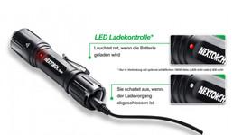 Taktisches TA40 Set 1040 Lumen LED Taschenlampe mit magnetischer Universal-Halterung, Kabelfernbedienung, 2.600 mAh Akku – Bild 3