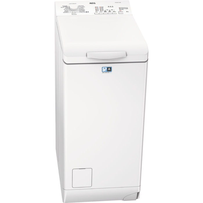 AEG LAVAMAT L51060TL Waschmaschine (Toplader, 6 kg; Startzeitvorwahl, AquaControl Schlauch, 951 U/min, EEK F)