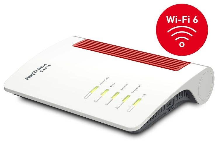 AVM FRITZ!Box 6660 Cable Router (Kabel, DECT, Mesh, Wi-Fi 6, 20002910)