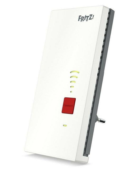 AVM FRITZ!Repeater 2400 (Mesh, Dual-WLAN AC, 1733 MBit, 600 Mbit, 5 GHz, 2,4 GHz, Gigabit-LAN)