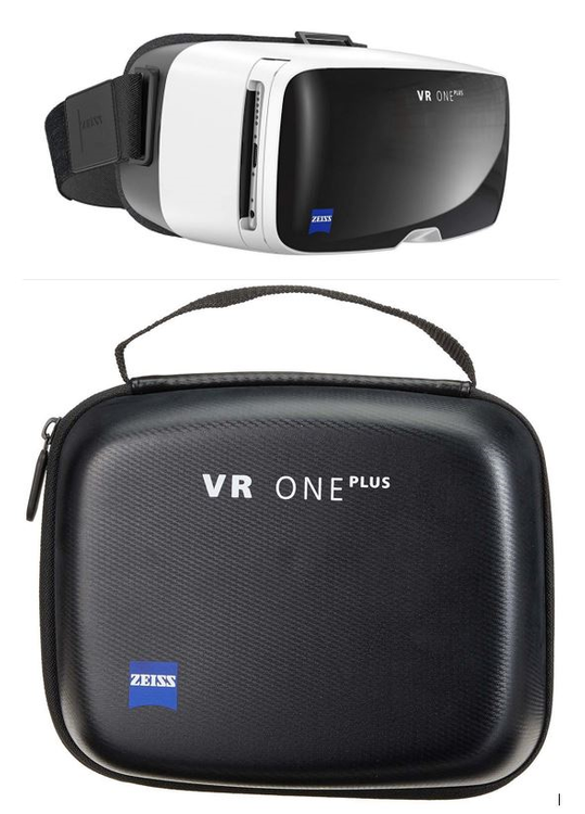 ZEISS VR ONE Plus - Virtual Reality Brille Für Smartphone inkl. Travelcase!