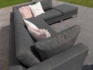 Gartenmöbel - Chill-Lounge Living Casablanca Lounge Set - anthrazit
