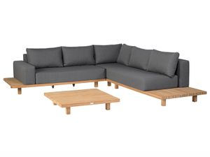 Paradiso Lounge - Outdoor Gartenlounge - Teak/Nanotex