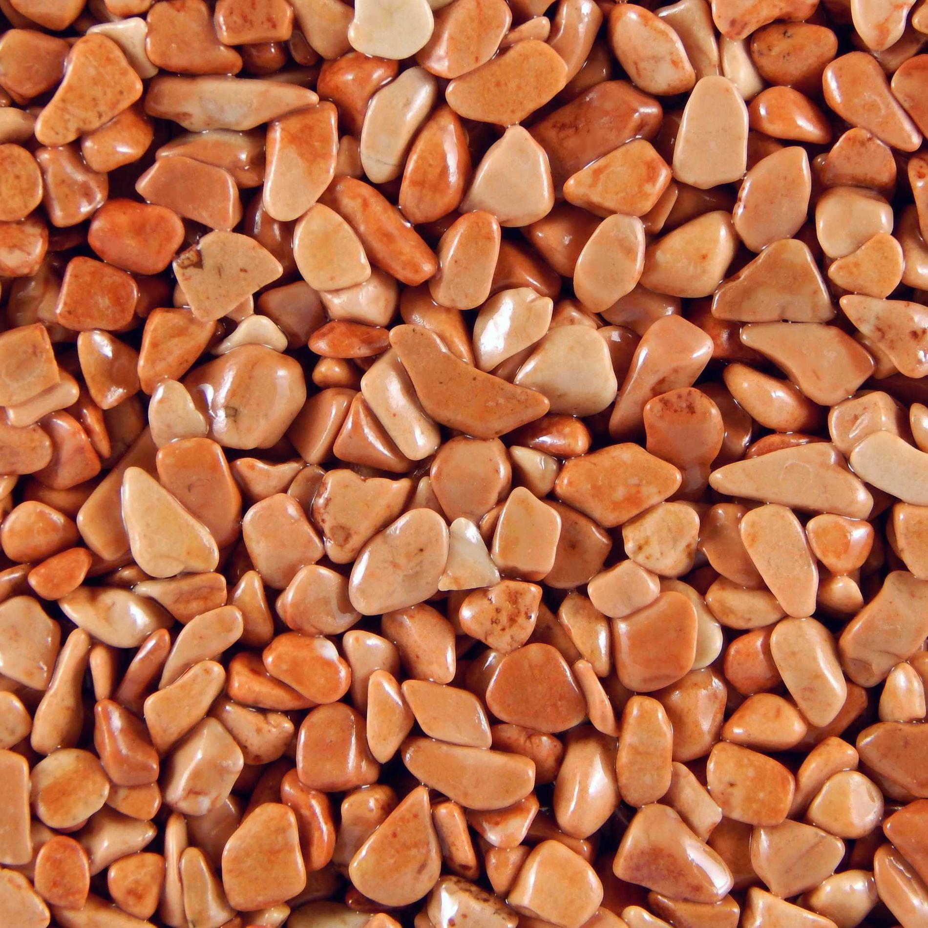 Terralith Marmor - Steinteppich rosso für 1 qm - außen -