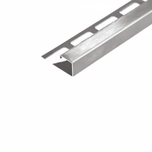 Abschlussprofil (DURAPLUS) -Edelstahl- 8 mm (Länge 2,5 m)