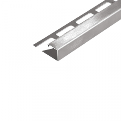 Abschlussprofil (DURAPLUS) -Edelstahl- 12,5 mm (Länge 2,5 m)