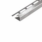 Abschlussprofil (DURAPLUS) -Edelstahl- 12,5 mm (Länge 2,5 m) 001