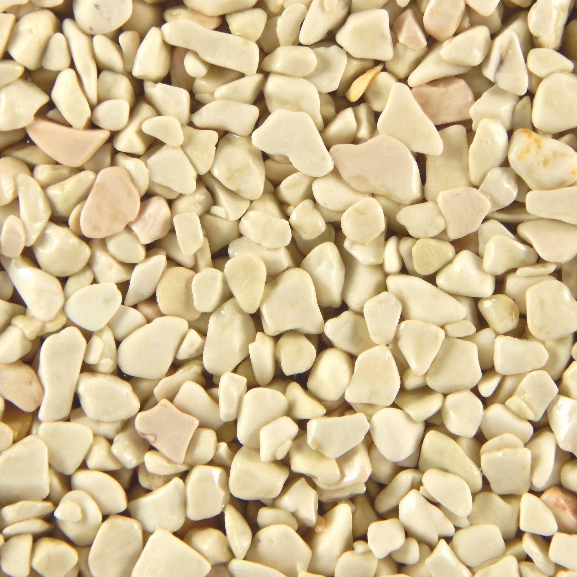 Terralith Marmor - Steinteppich WAND vaniglia (fein) für 1 qm