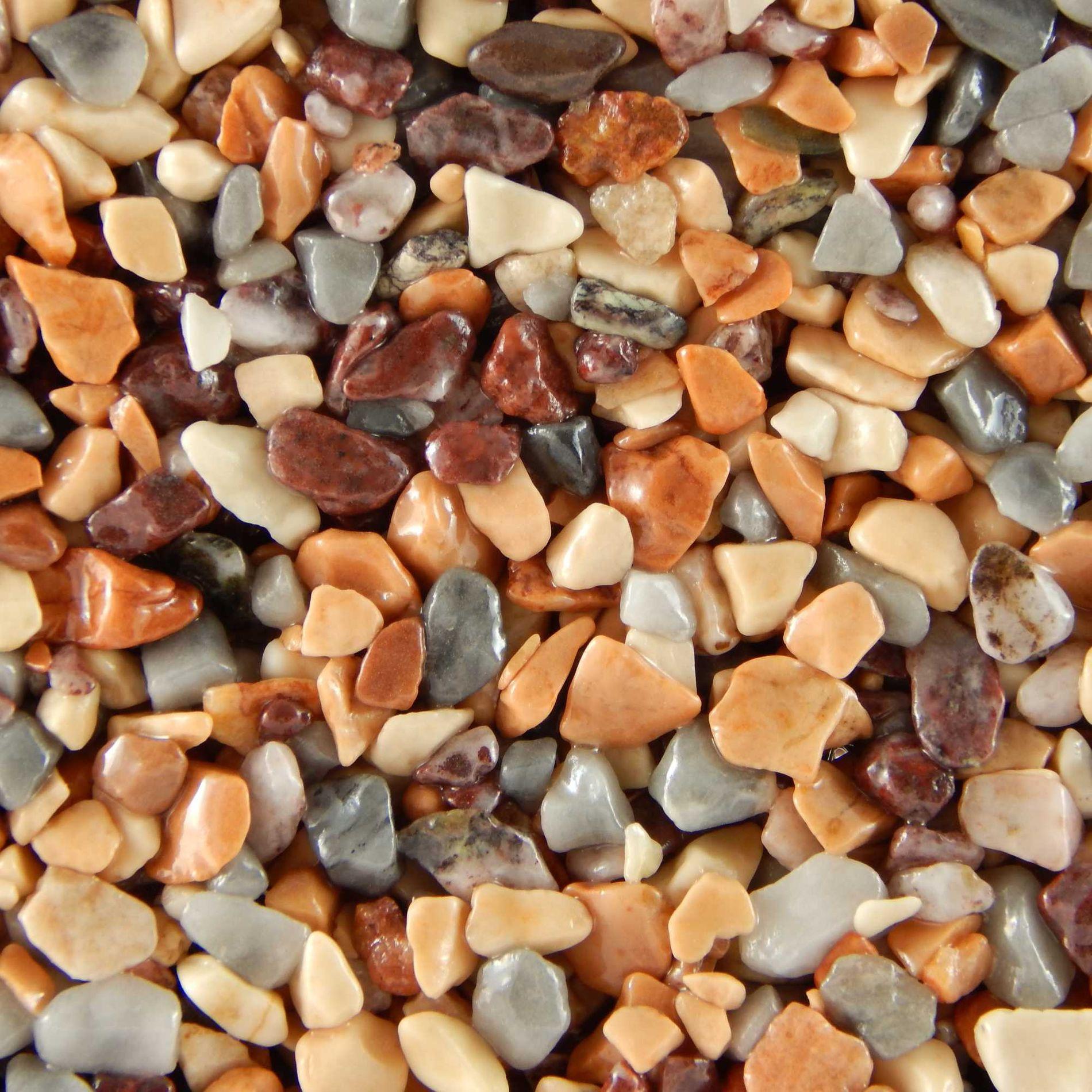 Terralith Steinteppich Farbmuster -colorato tre-