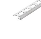 Abschlussprofil (Winkelabschlussprofil) -Edelstahl- 6 mm (Länge 2,5 m) 001