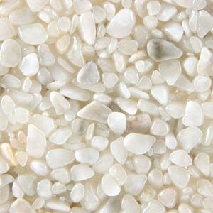 Terralith Marmor - Steinteppich bianco für 1 qm - außen -