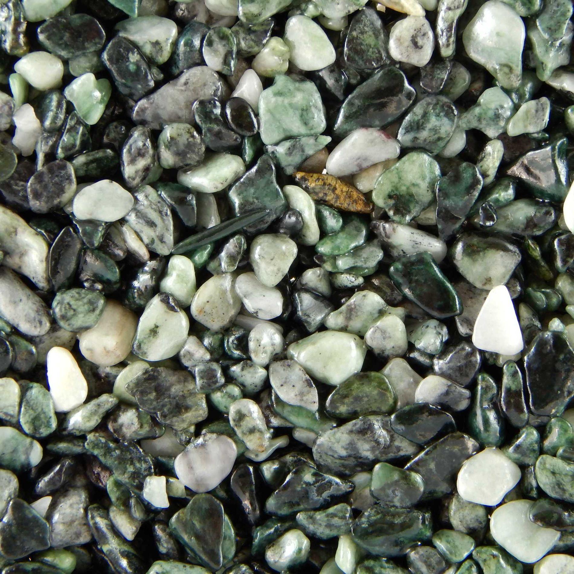 Terralith Marmor - Steinteppich jade für 1 qm - innen -